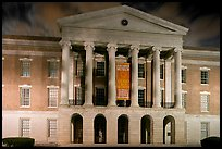 Old Capitol and State Historical Museum at night. Jackson, Mississippi, USA