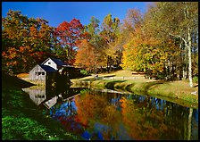 Mabry Mill, Blue Ridge Parkway. USA ( color)