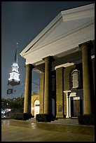 First Baptist Church, where the Ordinances of Secession were drawn. Columbia, South Carolina, USA