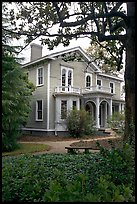 Boyhood home of president Wilson. Columbia, South Carolina, USA (color)