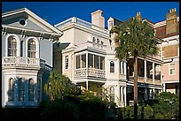 Antebellum architecture. Charleston, South Carolina, USA (color)