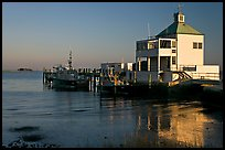 Harbor house, late afternoon. Charleston, South Carolina, USA (color)
