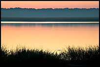 Beaufort Bay at sunrise. Beaufort, South Carolina, USA (color)