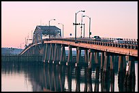Bridge at sunrise. Beaufort, South Carolina, USA (color)