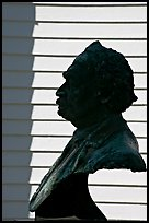 Robert Smalls memorial. Beaufort, South Carolina, USA (color)