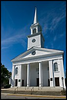 Baptist Church. Beaufort, South Carolina, USA