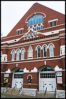 Ryman auditorium. Nashville, Tennessee, USA (color)