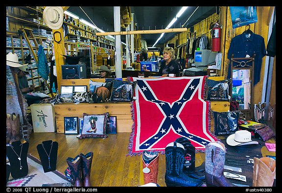 Country apparel store. Nashville, Tennessee, USA (color)