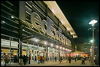 Fedex Forum by night. Memphis, Tennessee, USA (color)