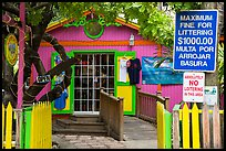 Colorful store, Cruz Bay. Saint John, US Virgin Islands ( color)