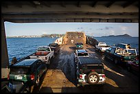 Car barge. Saint Thomas, US Virgin Islands ( color)