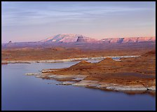 Antelope Island and Lake Powell. Arizona, USA (color)