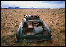 Car wreck. Arizona, USA ( color)