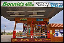 Drive-in convenience store. Arizona, USA ( color)