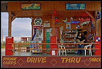 Bonnie's drive-through convenience store. Arizona, USA ( color)