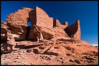 Wukoki pueblo, Wupatki National Monument. Arizona, USA