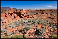 Sinagua culture site, Wupatki National Monument. Arizona, USA