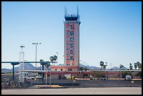 Control tower, Tucson Airport. Tucson, Arizona, USA ( color)