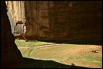Light and shadows cast by the steep walls of Canyon de Muerto. Canyon de Chelly  National Monument, Arizona, USA