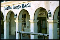 Arcades of Wells Fargo Bank, Old Tucson Studios. Tucson, Arizona, USA ( color)