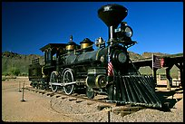 Locomotive, Old Tucson Studios. Tucson, Arizona, USA (color)