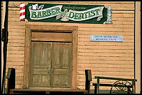 Dentist shop, Old Tucson Studios. Tucson, Arizona, USA ( color)