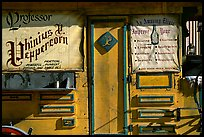 Snake Oil display, Old Tucson Studios. Tucson, Arizona, USA (color)