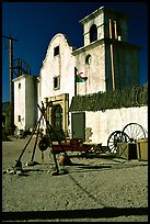 Adobe, Old Tucson Studios. Tucson, Arizona, USA ( color)
