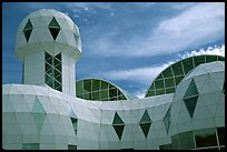 Tower. Biosphere 2, Arizona, USA ( color)