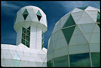 Tower and dome. Biosphere 2, Arizona, USA ( color)