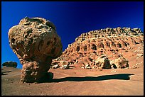 Mushroom rock near Page. Arizona, USA (color)