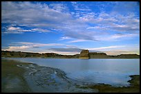 Wahweap Bay, Lake Powell, Glenn Canyon National Recreation Area, sunset. Arizona, USA
