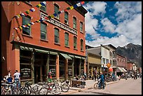 Historic New Sheridan hotel. Telluride, Colorado, USA ( color)