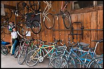 Bike shop. Telluride, Colorado, USA
