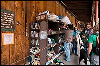 Items being exchanged at the free box. Telluride, Colorado, USA ( color)