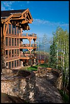 Peaks resort, Mountain Village. Telluride, Colorado, USA