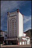Historic Park Theater, Estes Park. Colorado, USA (color)