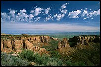 Mesas, Monument Canyon view. Colorado National Monument, Colorado, USA