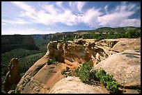 Cliffs. Colorado National Monument, Colorado, USA (color)