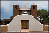 Church San Geronimo. Taos, New Mexico, USA (color)