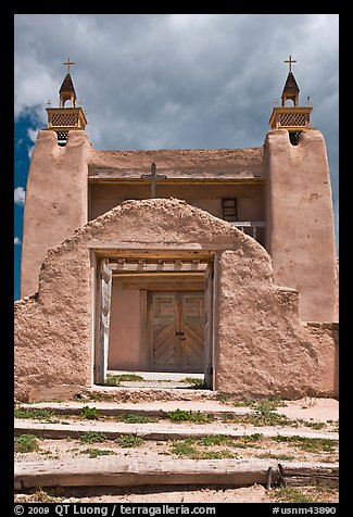 San Jose de Gracia church. New Mexico, USA