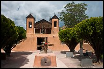 Church, Sanctuario de Chimayo. New Mexico, USA ( color)