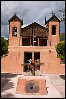 Chapel, Chimayo sanctuary. New Mexico, USA ( color)