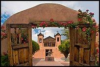 Chimayo Shrine. New Mexico, USA ( color)