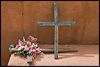 Crosses, Sanctuario de Chimayo. New Mexico, USA ( color)