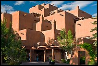 Loreto Inn hotel. Santa Fe, New Mexico, USA