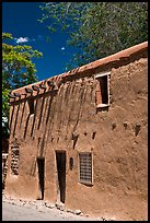 Casa Vieja de Analco. Santa Fe, New Mexico, USA (color)