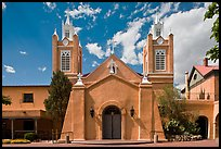 Church San Felipe de Neri. Albuquerque, New Mexico, USA ( color)