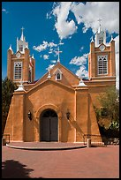 San Felipe de Neri church. Albuquerque, New Mexico, USA ( color)