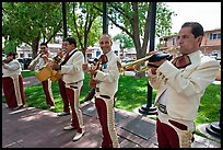 Mariachi musicians. Albuquerque, New Mexico, USA (color)